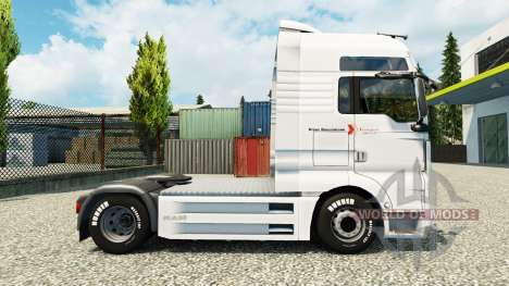 Klaus Bosselmann skin for MAN truck para Euro Truck Simulator 2
