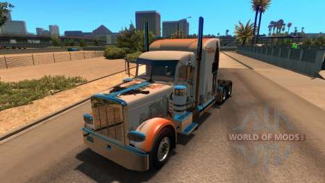 Skin The Division for Peterbilt 389 para American Truck Simulator