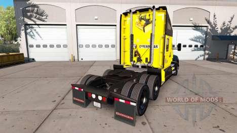 La piel de la Oruga tractor Kenworth para American Truck Simulator
