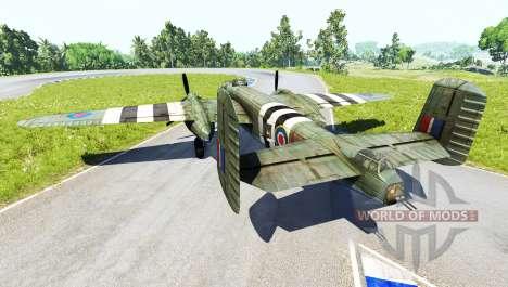 North American B-25 Mitchell v4.0 para BeamNG Drive
