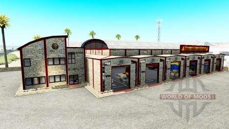 Garages T. L. Europa para American Truck Simulator