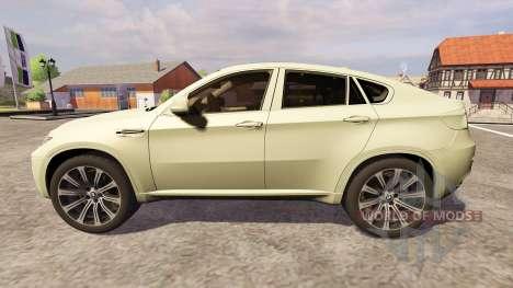 BMW X6 M para Farming Simulator 2013