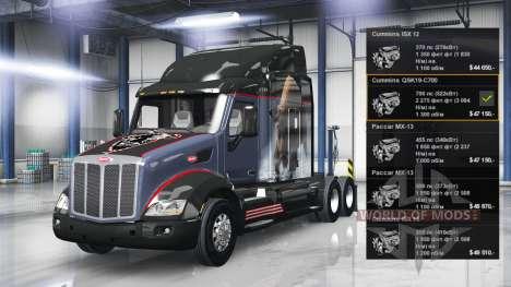 Motor Cummins QSK19-C700 para American Truck Simulator