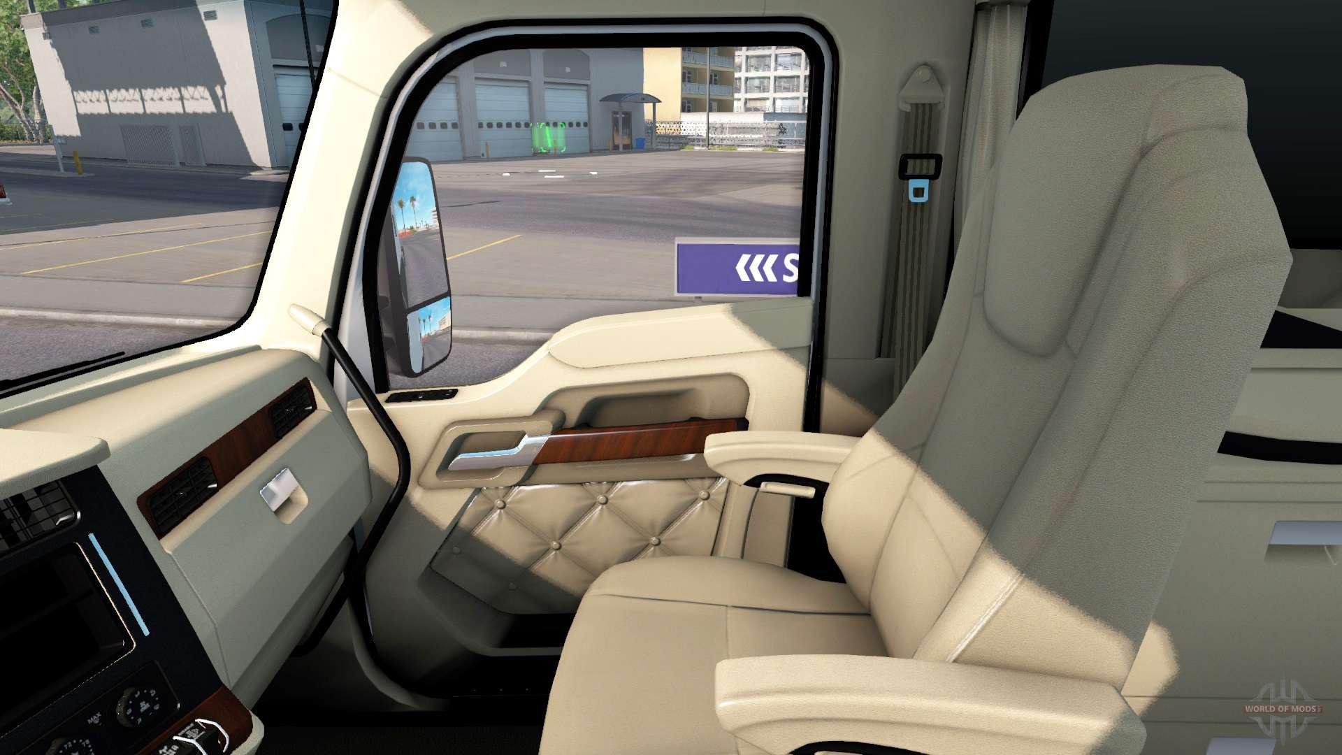 Los interiores de lujo en kenworth t680 para american - Interiores de lujo ...