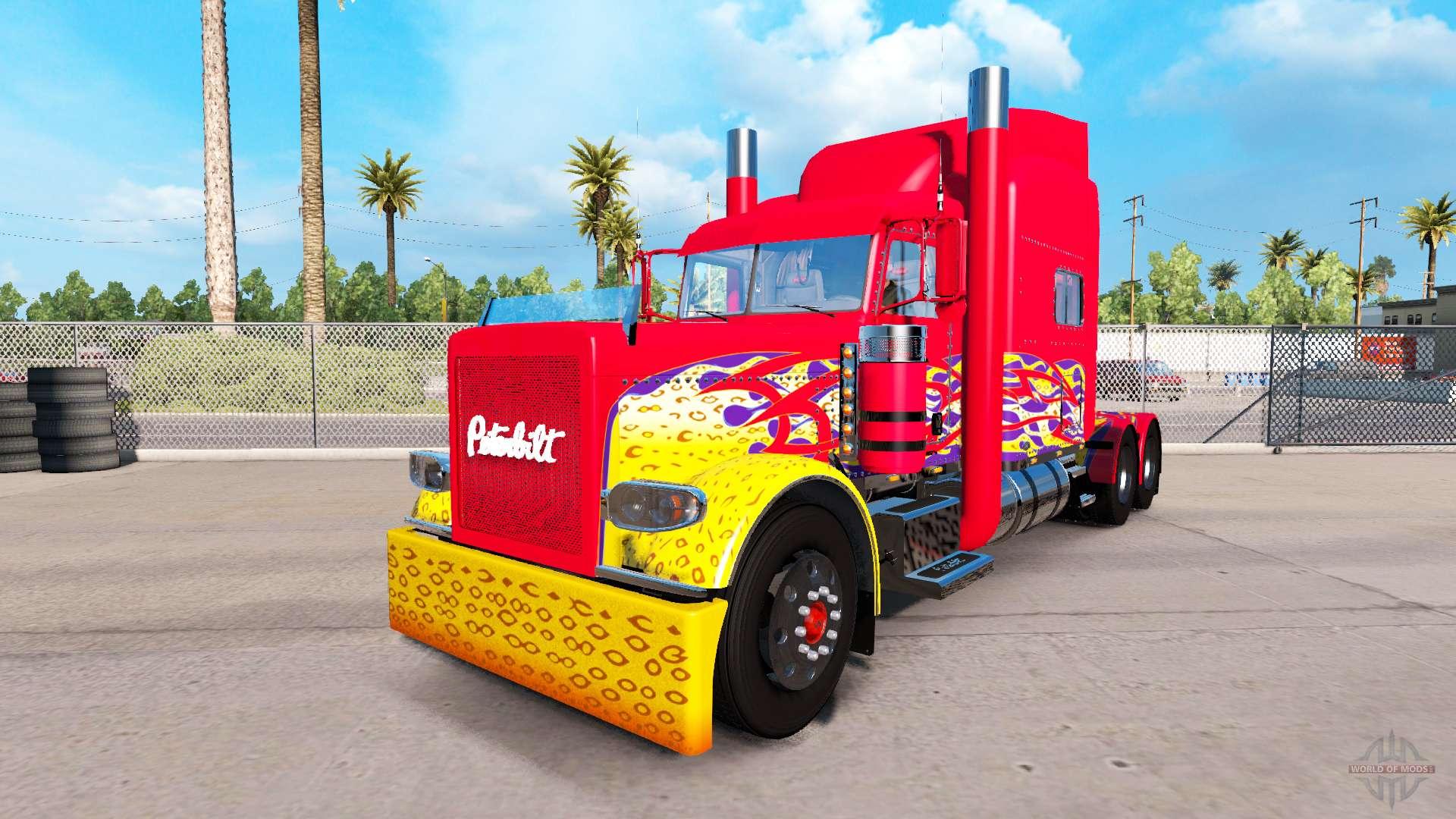 Schön Malvorlagen Peterbilt Semi Truck Ideen - Entry Level Resume ...