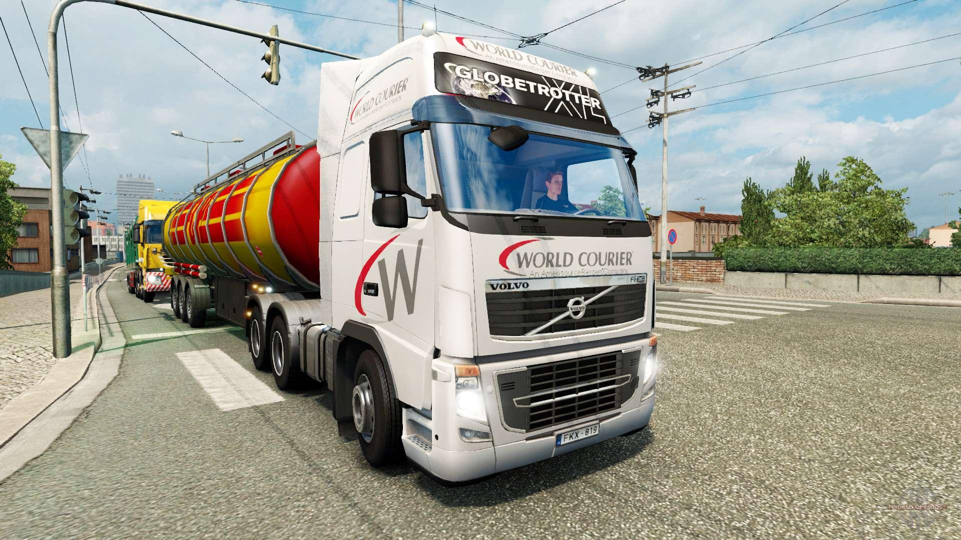 Páginas para colorear de camiones para el tráfico de v1.1 para Euro ...