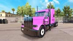 La piel Pooh Veasna tractor Peterbilt 389