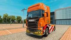 De Transporte pesado de la piel para Scania cami