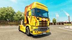 Fuego en la piel para Scania camión