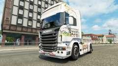 La piel de Kinder en la unidad tractora Scania