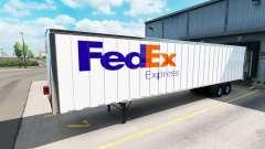 Pieles de UPS y FedEx para remolques