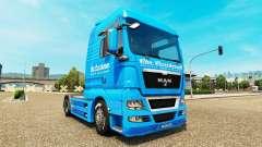 Carstensen piel para HOMBRE camión