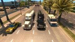Más camiones en el tráfico