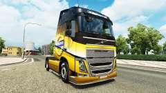 El Volvo Especial 2012 de la piel para camiones