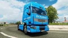 Carstensen de la piel para Renault camión