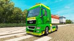 La piel de John Deere para el HOMBRE camiones