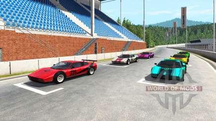 Hirochi Super Race v1.05 para BeamNG Drive