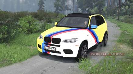 BMW X5 M [03.03.16] para Spin Tires