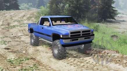 Dodge Ram Ext. Cab 1996 [03.03.16] para Spin Tires