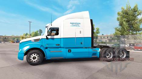 La Piel De Larga Distancia De Camiones. Peterbil para American Truck Simulator
