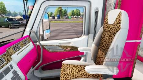 Piel de Niña Edición Peterbilt tractor para American Truck Simulator