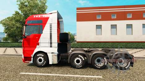 MAN TGX 8x4 para Euro Truck Simulator 2