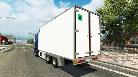 Volvo FH tandem para Euro Truck Simulator 2