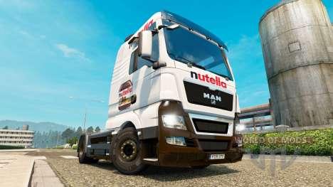 Nutella piel v2.0 tractor HOMBRE para Euro Truck Simulator 2