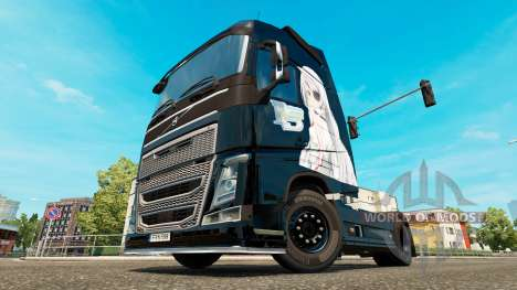Infinite Stratos piel para camiones Volvo para Euro Truck Simulator 2