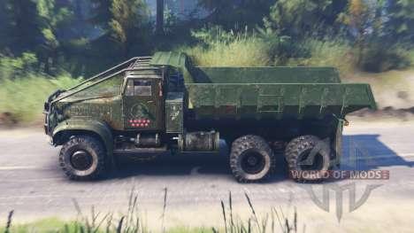 Yaz-214 para Spin Tires