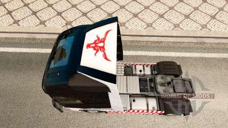 El Transporte pesado skin for Volvo truck para Euro Truck Simulator 2