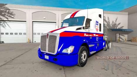 Casa de máquinas de Transporte de la piel para K para American Truck Simulator