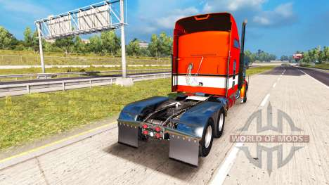 Metálico de la piel para el Kenworth W900 tracto para American Truck Simulator