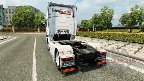 Intersectorial de la piel para Scania camión para Euro Truck Simulator 2