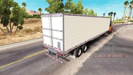 Largo refrigerados semi-remolque para American Truck Simulator