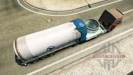 Semi recipiente de presión para Euro Truck Simulator 2