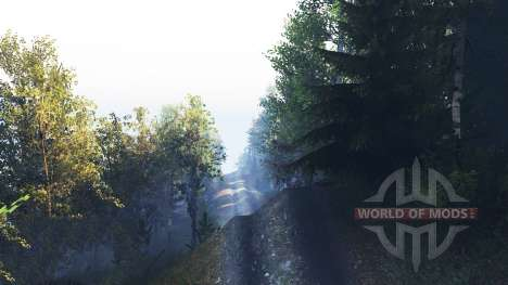 River Run v2.0 para Spin Tires