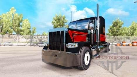 La víbora de la piel para el camión Peterbilt 38 para American Truck Simulator