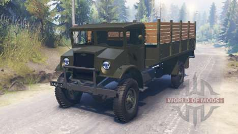 Chevrolet C60L 4x4 1942 para Spin Tires
