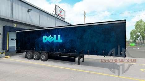 Dell piel en el remolque para American Truck Simulator