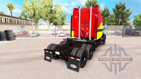 Santa Fe de la piel para el camión Peterbilt para American Truck Simulator