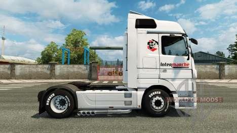 La piel Intersectorial en la unidad tractora Mer para Euro Truck Simulator 2