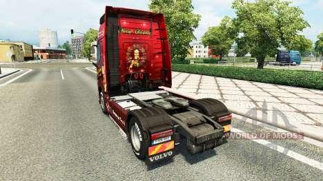 La navidad de la piel para camiones Volvo para Euro Truck Simulator 2