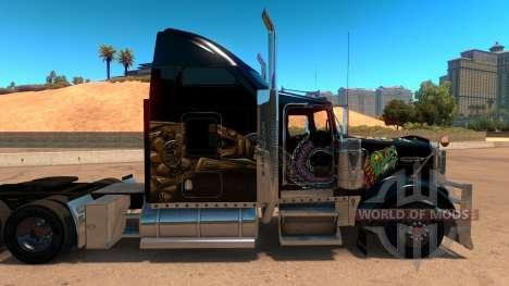 Kenworth W900 Mexico Skin v 2.0 para American Truck Simulator