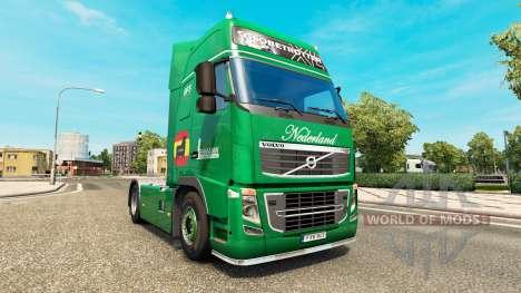 Lehmann skin for Volvo truck para Euro Truck Simulator 2