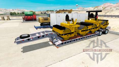 Baja de barrido Cozad Expando para American Truck Simulator
