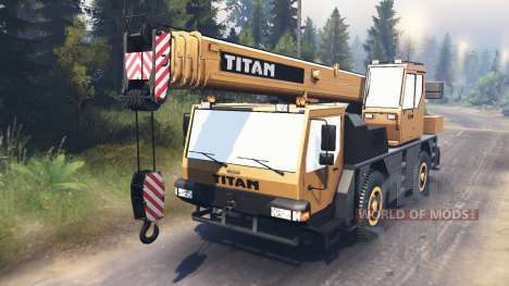 Liebherr LTM 1030 [03.03.16] para Spin Tires
