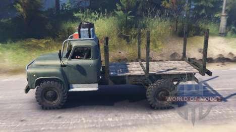 GAZ-53 v03.02.16 para Spin Tires