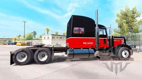 La Piel Bert Materia Inc. para el camión Peterbi para American Truck Simulator