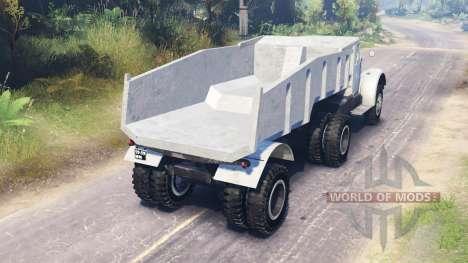 MAZ-200 para Spin Tires